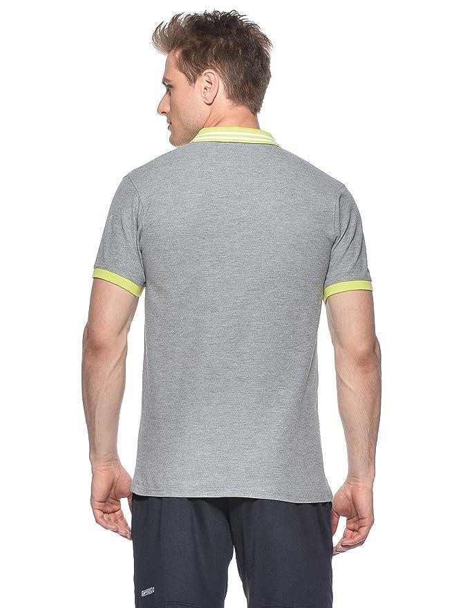Dunlop Torso-Ropa Casual Polo para Hombre Gris Gris Talla:Extra ...