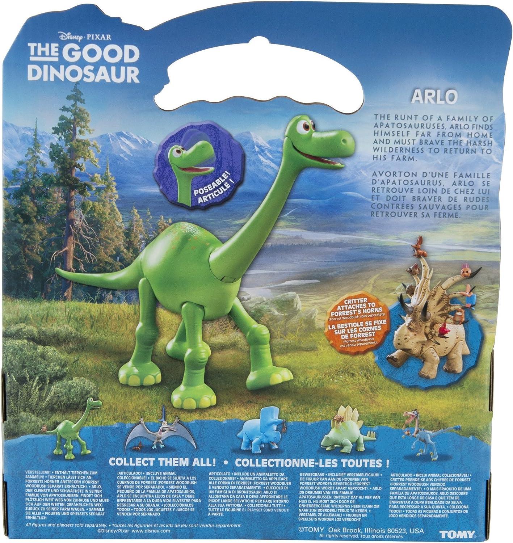 saber, Forrest, Butch + Disney Pixar la buena Dinosaurio-Juego de 8 Mini Figuras