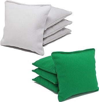 Free Donkey Sports 8 ACA Regulation Cornhole Bags.Corn-Filled 25 Colors