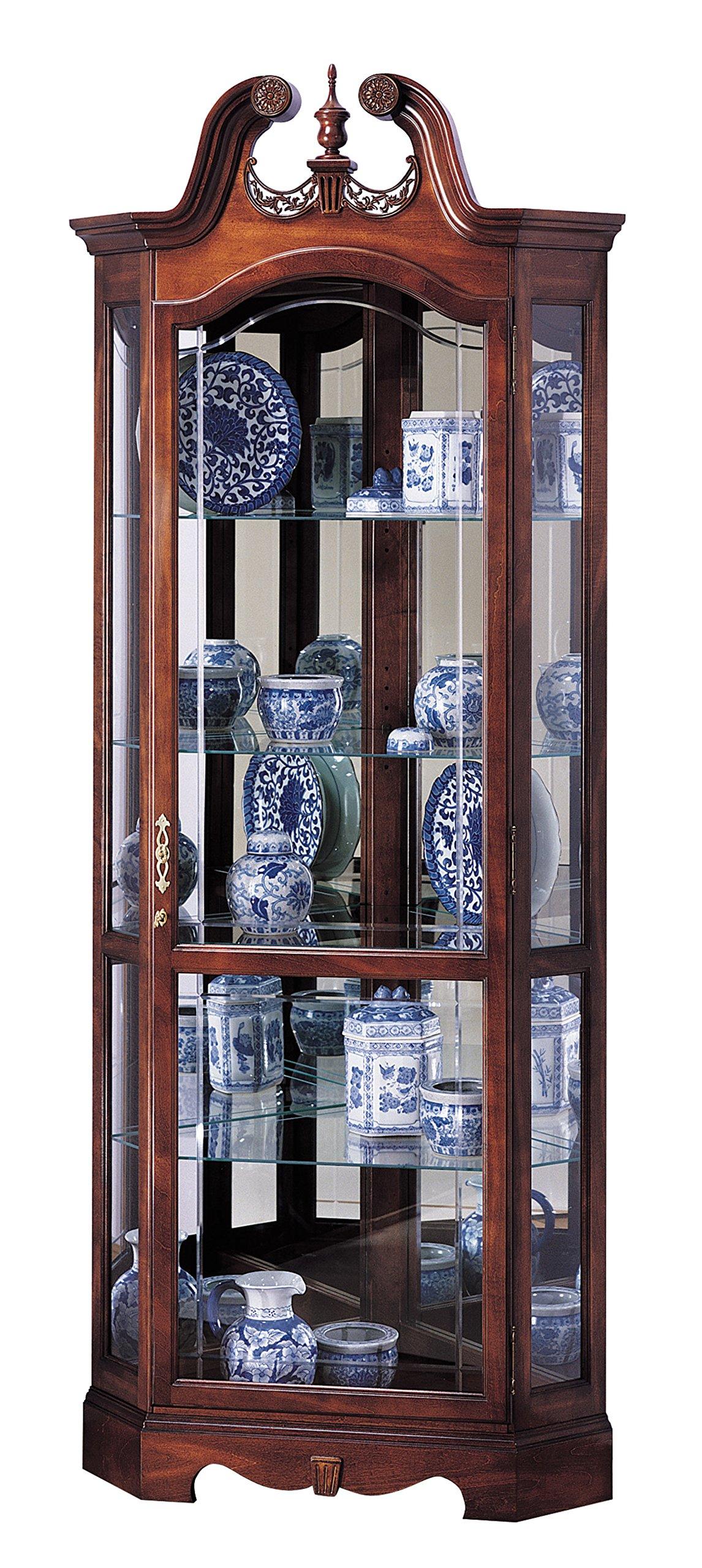 Howard Miller 680-205 Berkshire Curio Cabinet by by Howard Miller