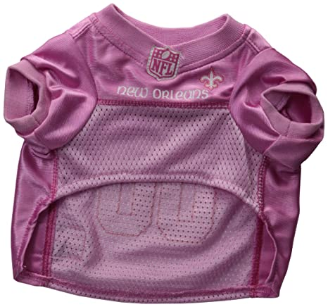 17434a667 New Orleans Saints Dog Jersey Pink, Small. - Football Pet Jersey in Pink