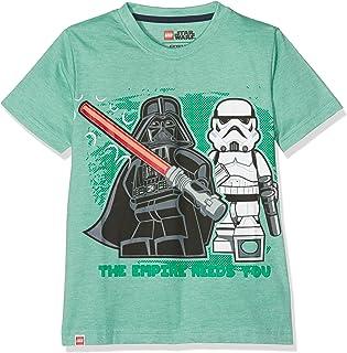 LEGO WEAR Jungen T-Shirt Star Wars Darth Vader 71171 19380