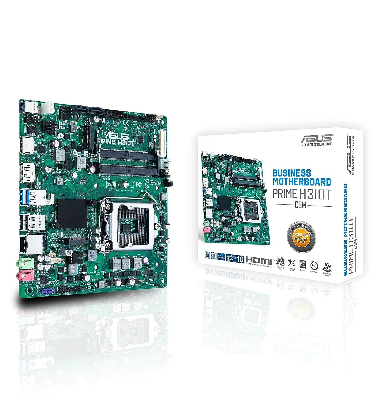 Amazon.com: ASUS Prime H310T/CSM LGA1151 (300 Series) DDR4 M.2 DP HDMI LVDS Thin mITX Motherboard: Computers & Accessories