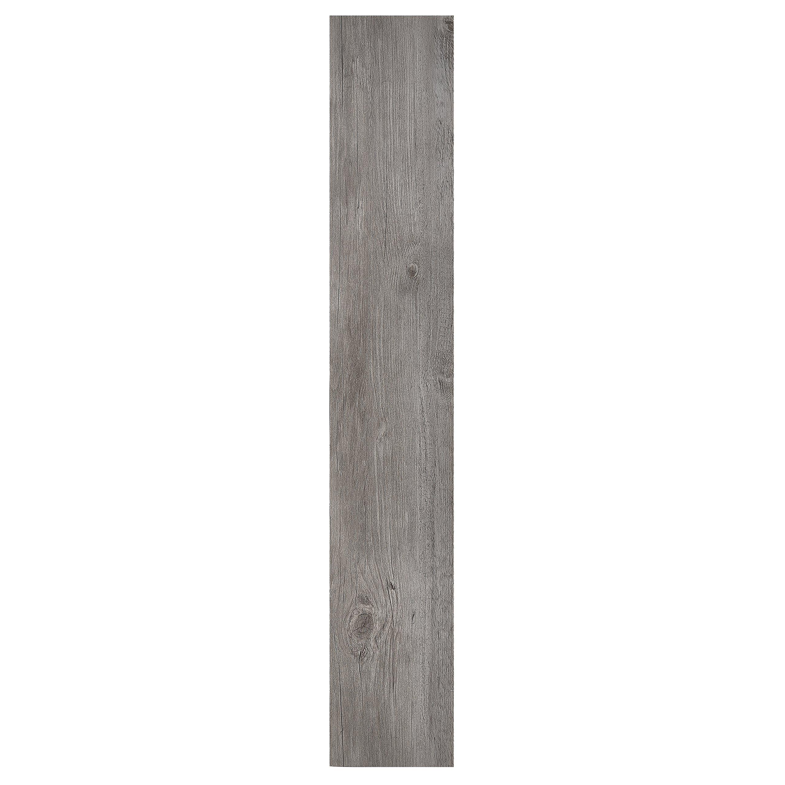 Achim Home Furnishings Achig VFP1.2GO10 Nexus 1.2Mm Vinyl Floor Planks, 6 Inches x 36 Inches, Light Grey Oak by Achim Home Furnishings