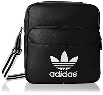 54e073e8a9 adidas Sir Adicolor Sac à bandoulière Noir/Blanc: Amazon.fr: Sports ...