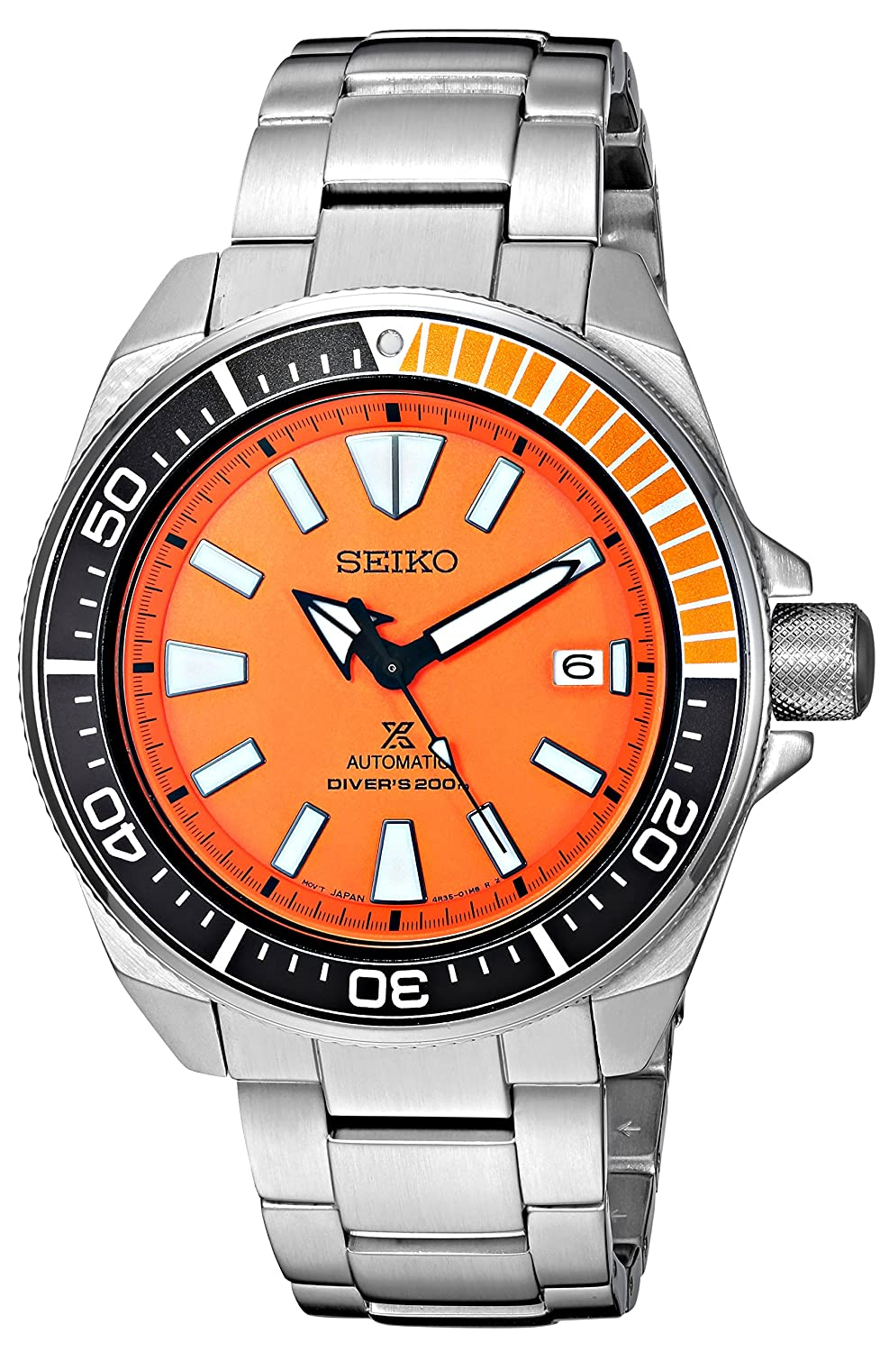 Amazon.com  Seiko Men s SRPB97 Prospex Japanese Automatic Stainless Steel  Dive Watch  Watches b49b942cdb