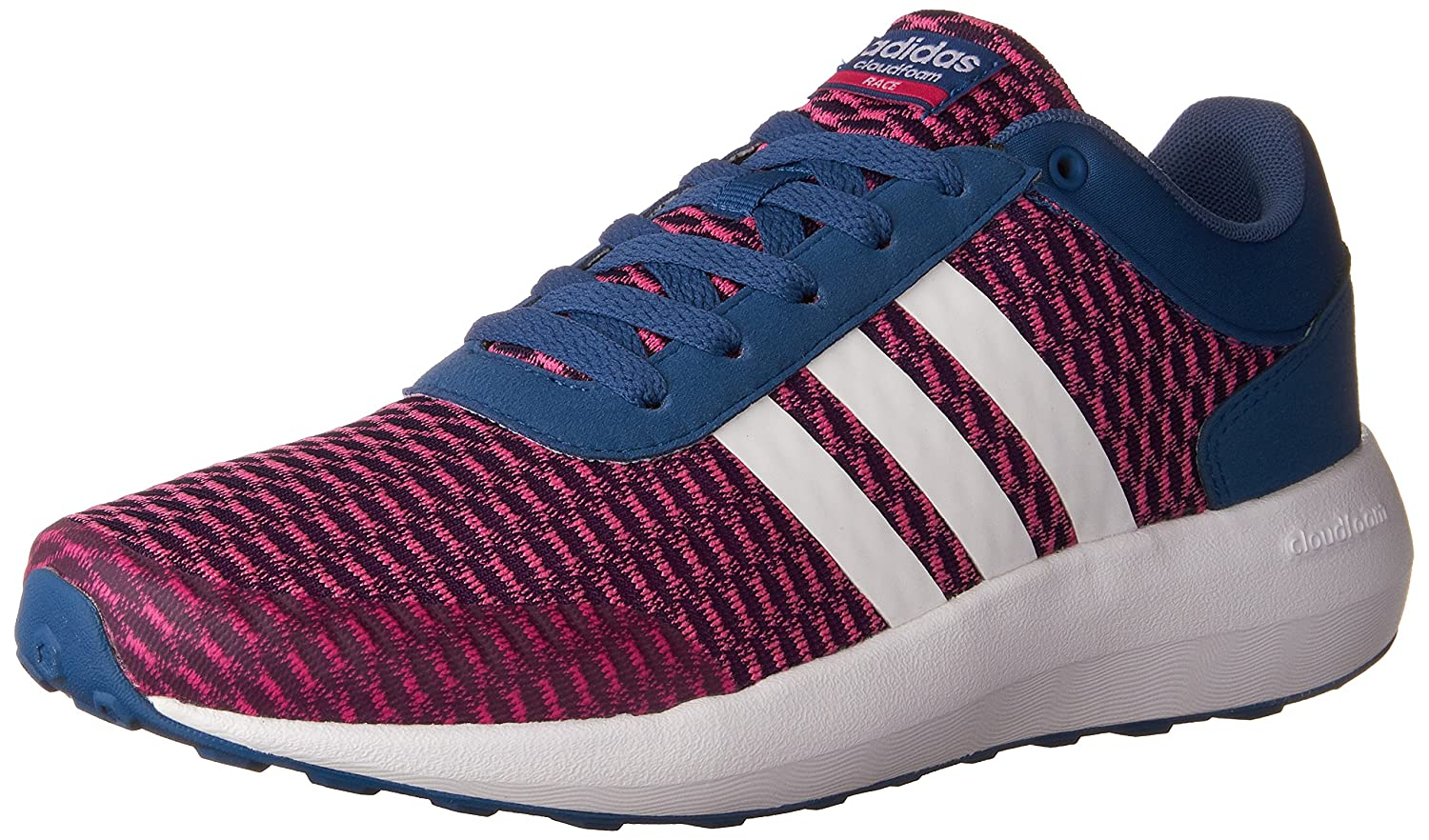 uk availability 43ae7 b85cd adidas Womens Cloudfoam Race Sneakers Adidas Amazon.ca Shoes  Handbags