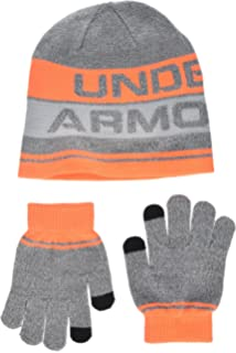 c4bb02f3dddf8 Amazon.com  Under Armour Kids  UA Beanie   Glove Combo Pack One Size ...