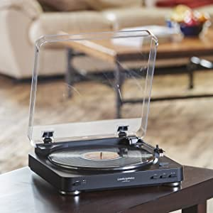 Audio Technica AT-LP60BK Fully Automatic Belt-Drive Stereo Turntables