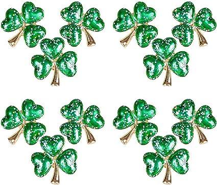 12 Shamrock Pins