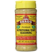 Bragg Nutritional Yeast Seasoning Premium 4.5 Ounce