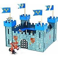 Le Toy Van - TV257 - Figurine - Mon Premier Château - Bleu
