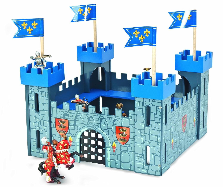 Le Toy Van Ritterburg - Le Toy Van My First Castle Blau