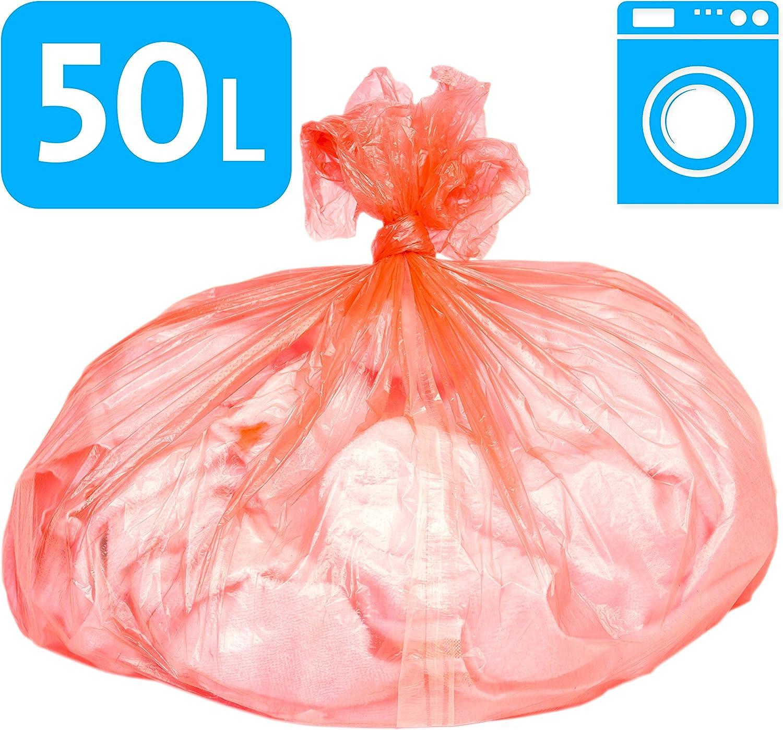Alina Bolsa para colada con tira soluble en agua, 50 l, tejido ...