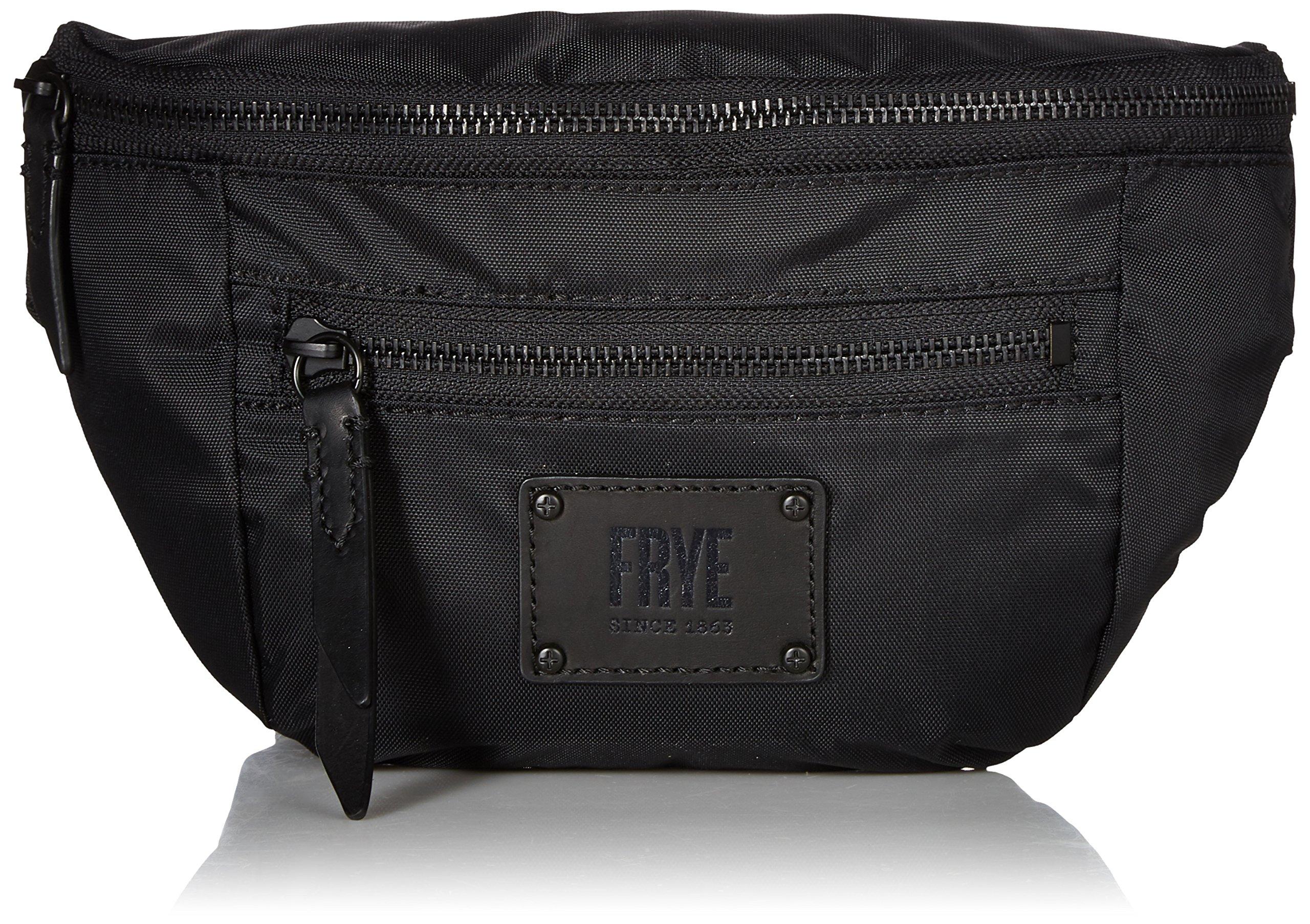 FRYE Ivy Nylon Convertible Crossbody Belt Bag, matte black
