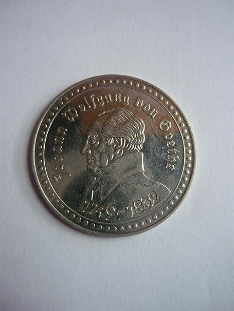 Münze Johan Wolfgang Von Goethe Faust Neuaufführung 1829