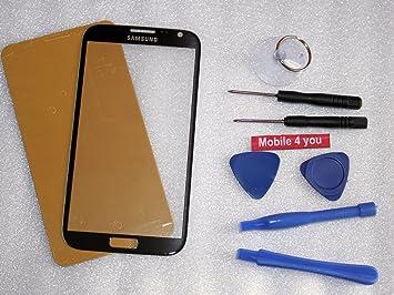 Samsung Galaxy Note2 N7100 Displayglas Scheibe Frontglas Handy Reparatur