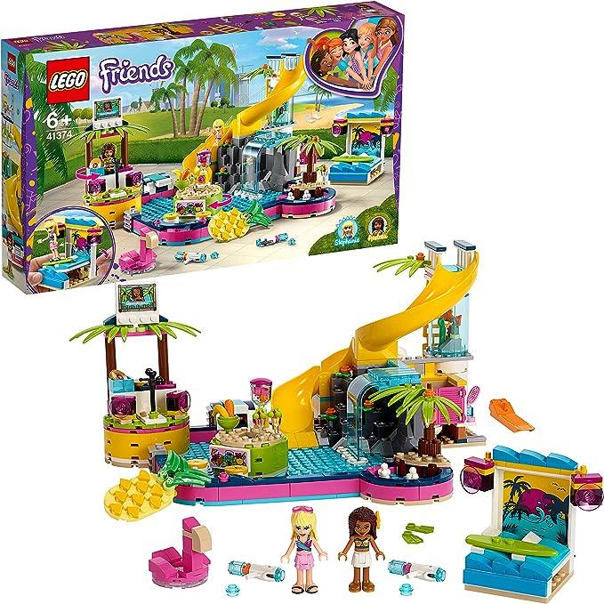 LEGO Friends - Fiesta en la Piscina de Andrea Nuevo set de ...