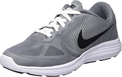Nike Cool Grey / Black-White-WLF Grey Zapatillas de running, Niños ...