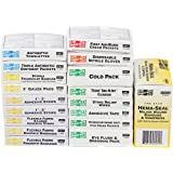 Pac-Kit by First Aid Only 5301R 135 Piece First Aid Refill Pack, For 5301 and 5311 24 Unit Kits