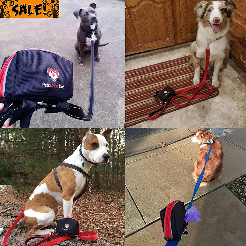dog poop bag holder easily dispense waste bags