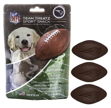eb595684a36 Nfl New England Patriots Dog Food Snack Treat Bone-Free. Dog Training  Cookies Tasty