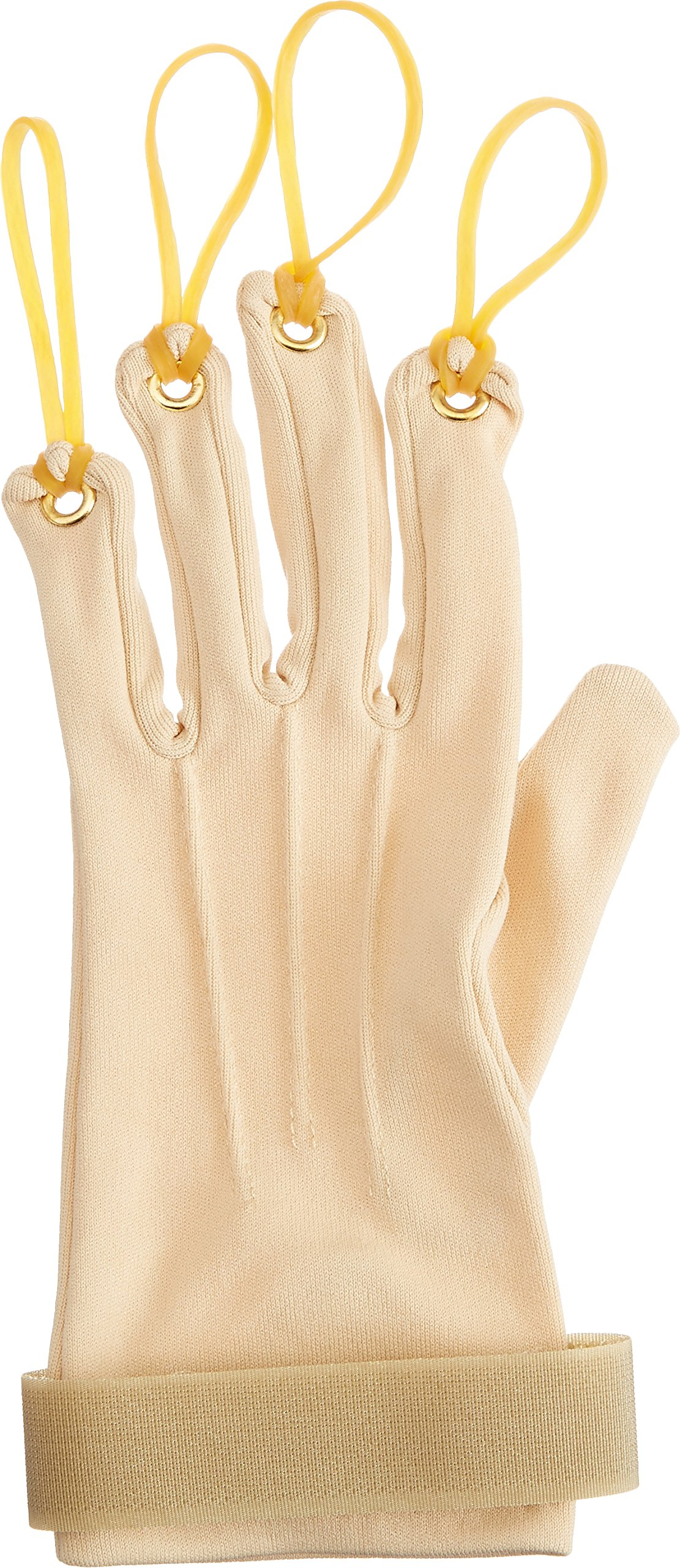 Sammons Preston Traction Exercise Glove, Hand and Finger Strengthening Glove for Joint Flexion, Hand Exerciser for Therapy, Recovery, and Rehabilitation, Left, Small/Medium