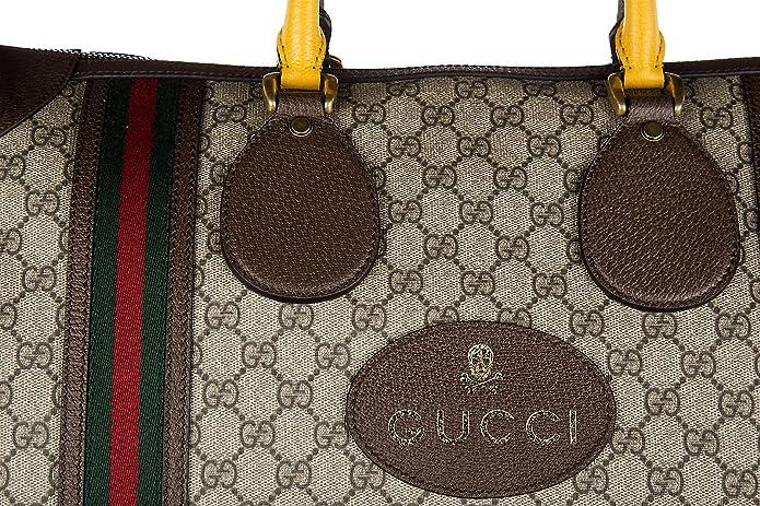 Gucci bolso de viaje con bandolera nuevo soft GG supreme beige: Amazon.es: Zapatos y complementos