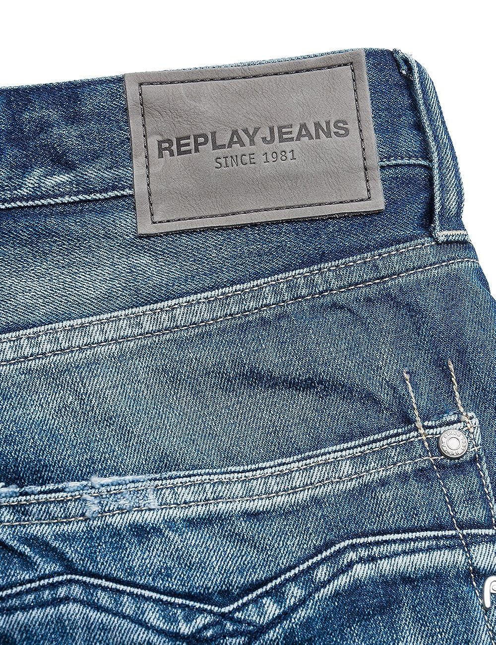 REPLAY Newbill Jeans Straight Uomo