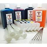 Katies Edible Ink Kit complet de cartouches d'encre pour imprimantes Canon - PGI-550, CLI-551