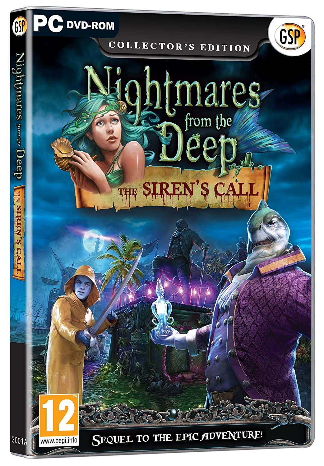 Nightmares From The Deep: The Siren's Call - Collector's