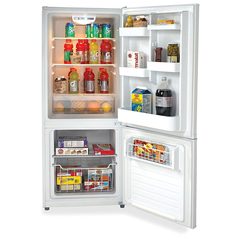 Amazon.com: Avanti FFBM102D0W Bottom Mount Frost Free Freezer ...