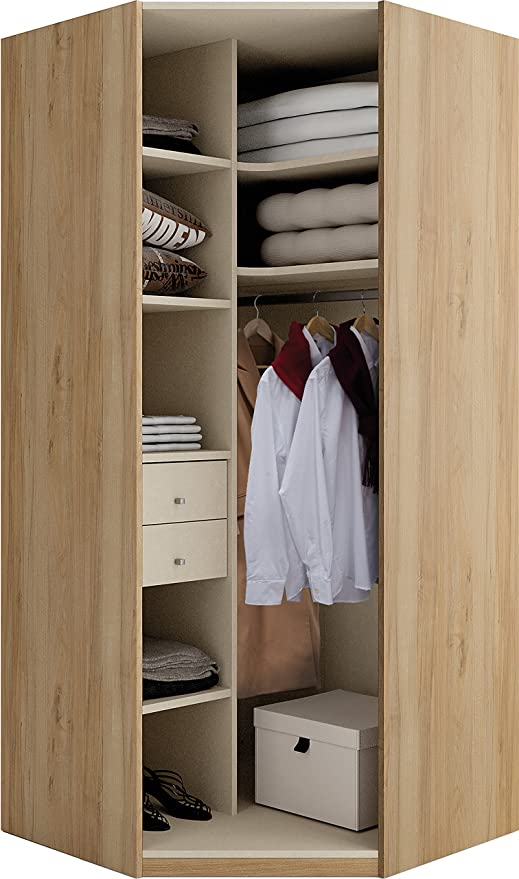 Dressing Dangle Sur Dressing Kit Amenagement De Placard Clack Dressing D Angle Contemporain Decor Blanc L 300 Cm