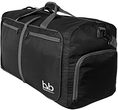 Amazon.com | 80L Light Foldable Travel Duffel Bag - Large Duffle ...