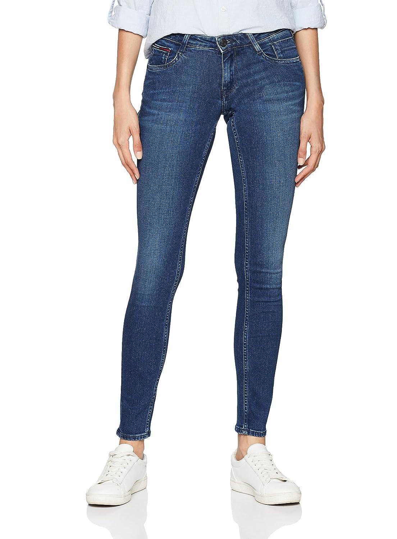 TALLA 28W / 32L. Tommy Jeans Mujer Low Rise  Scarlett  Vaqueros skinny