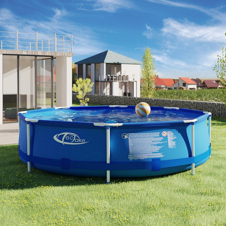 TecTake 800580 Piscina, Swimming Pool, Construcción Robusta, Fácil Montaje, Varios Modelos- (Tipo 1   no. 402894): Amazon.es: Hogar