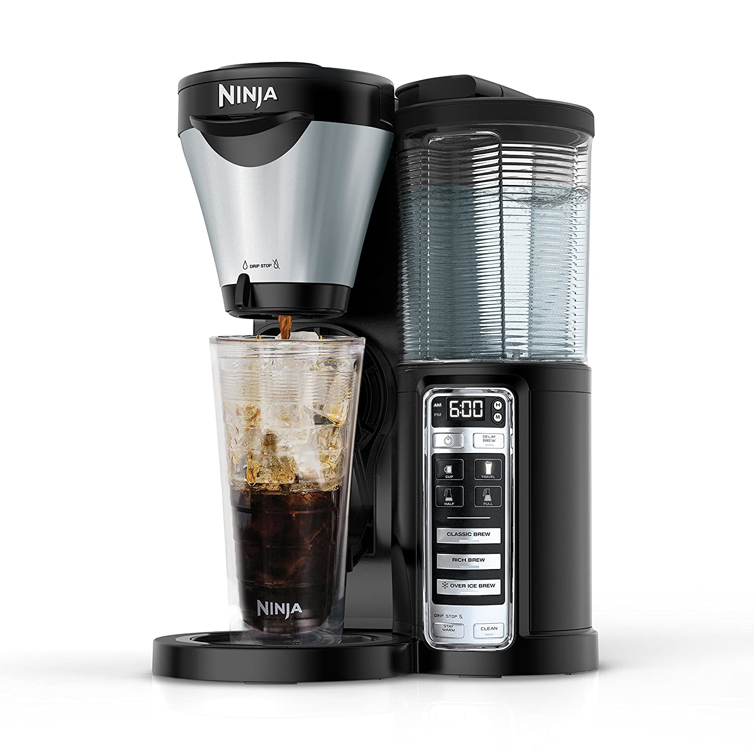 Amazoncom Ninja 3 Brew Hot And Iced Coffee Maker With Auto Iq 24