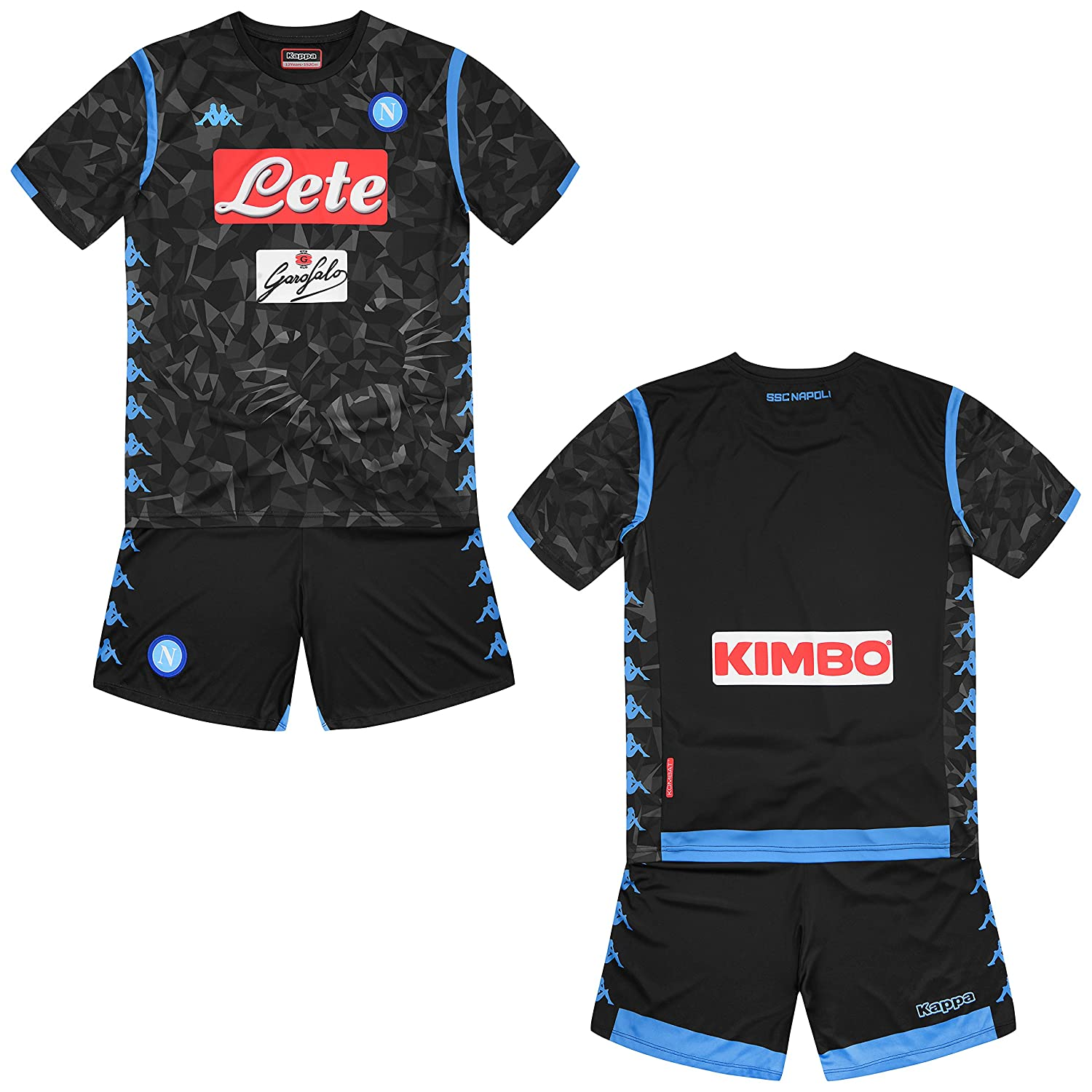Amazon.com   Kappa 2018-2019 Napoli Away Football Kit   Sports ... 0cd68e16c