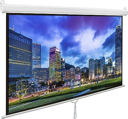 amazon com vivo 80 projector screen 80 inch diagonal 16 9 rh amazon com Toshiba LCD TV Toshiba LCD TV