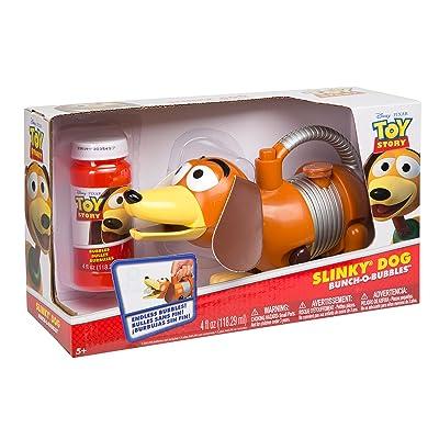 Disney Pixar Toy Story Slinky Dog Bunch-O-Bubbles: Toys & Games