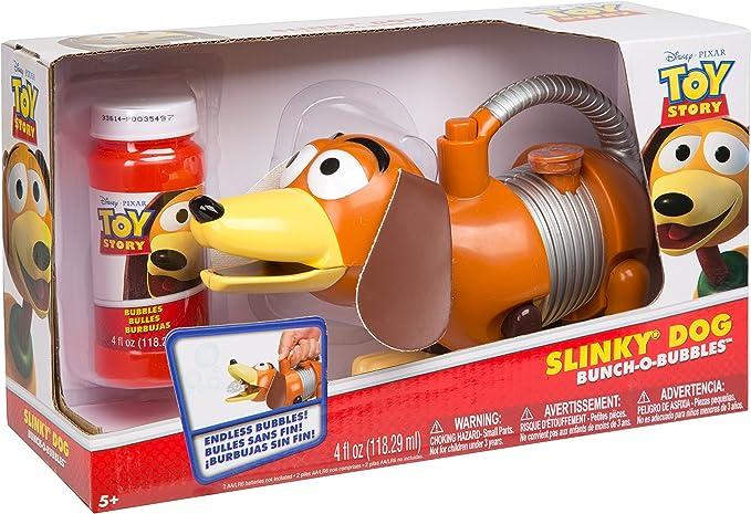 Toy Story- Perrito Resorte Slinky Que Hace POMPAS DE JABÓN Perro ...