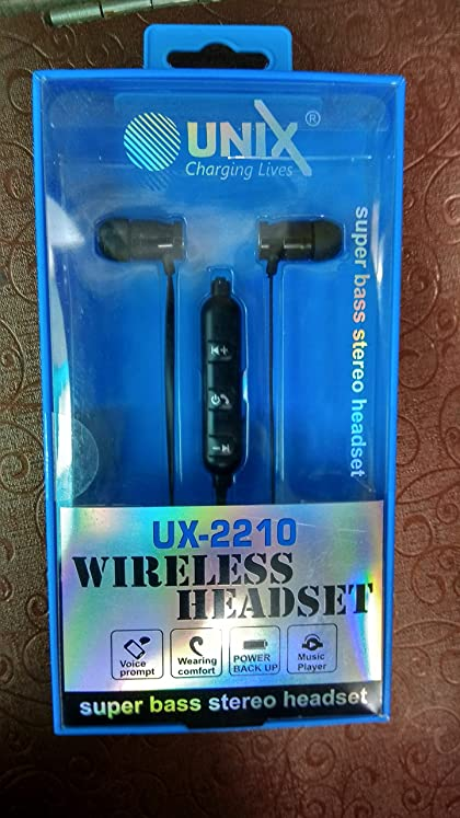 UNIX UX-2210 Super Bass Stereo Bluetooth..
