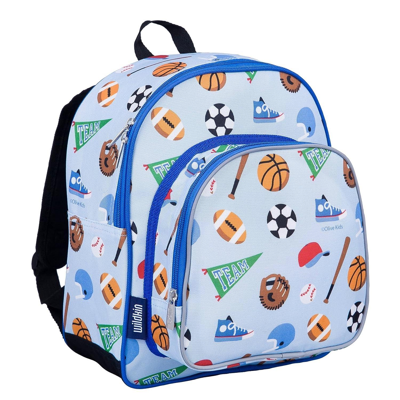 Wildkin Peace Signs Purple Pack N Snack Backpack 40212