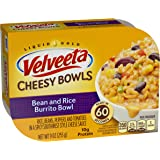 Velveeta Cheesy Bowls, Bean and Rice Burrito Bowl, 9 Ounce (Pack of 6)