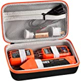 Case Compatible with Klein ET310 Tool AC Circuit Breaker Finder, Electrical Tools Bag Storage Organizer with Zipper Mesh Pock