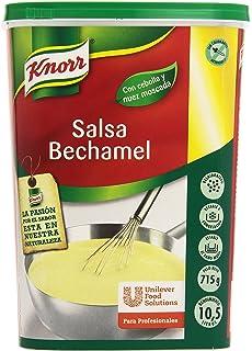 Knorr - Salsa Bechamel - Con cebolla y nuez moscada - 715 g