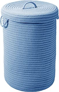 """product image for Simply Home Hamper w/lid - Blue Ice 18""""x18""""x30"""""""