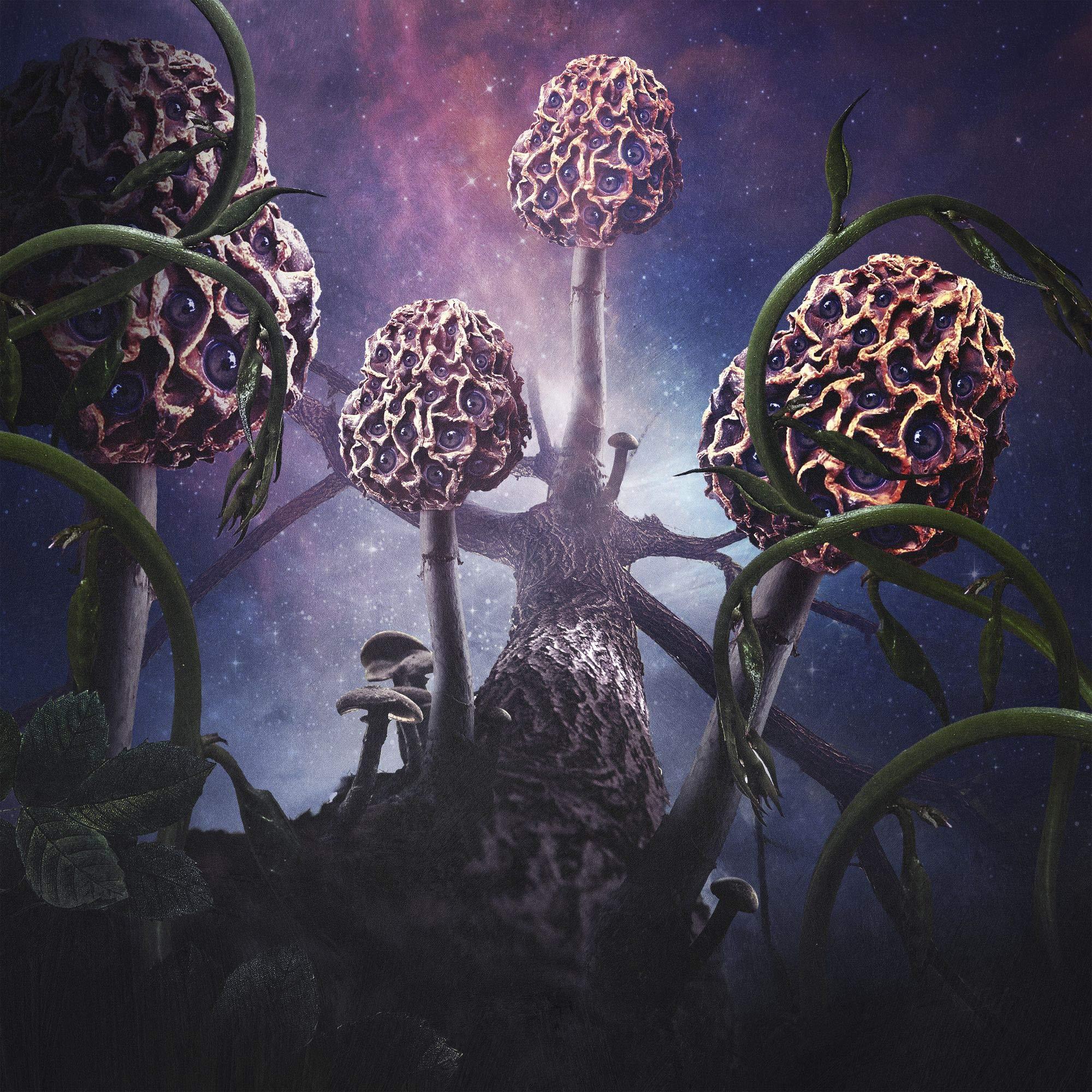 Hallucinogen (North American Exclusive Transparent Purple with Milky Merge 2LP) by Debemur Morti Productions