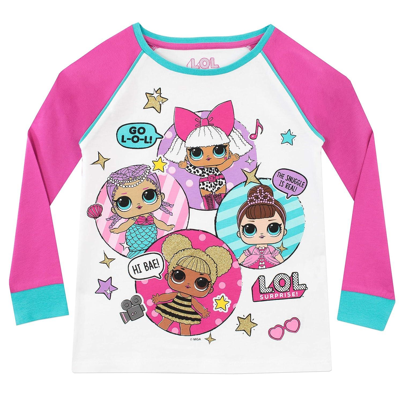 Fille Ensemble De Pyjamas Dolls 11-12 Ans Lol Surprise Multicolore