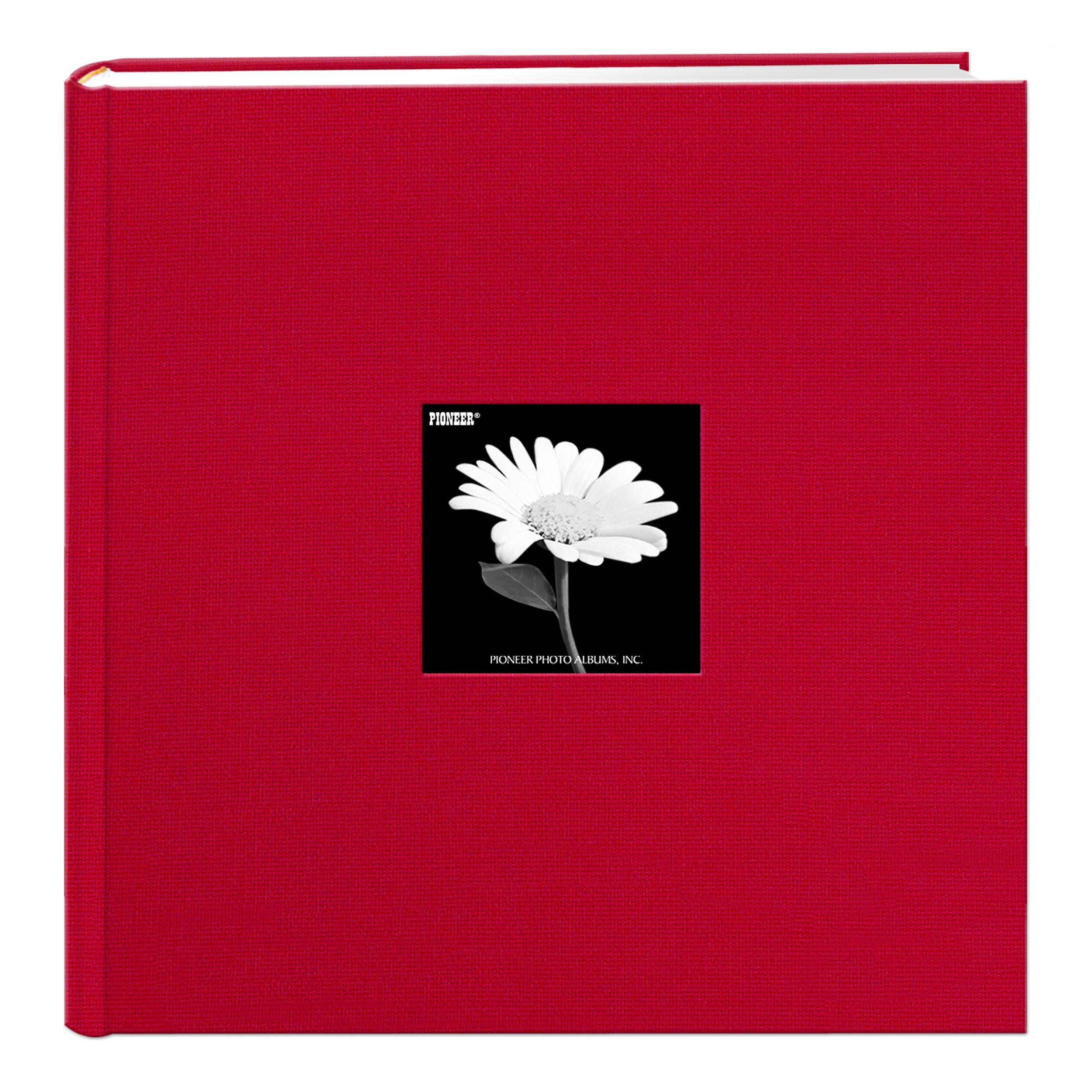 Pioneer Photo Albums DA-500CBF/R DA-500CBF Apple Photo Album, 500 Pocket 4x6, Red